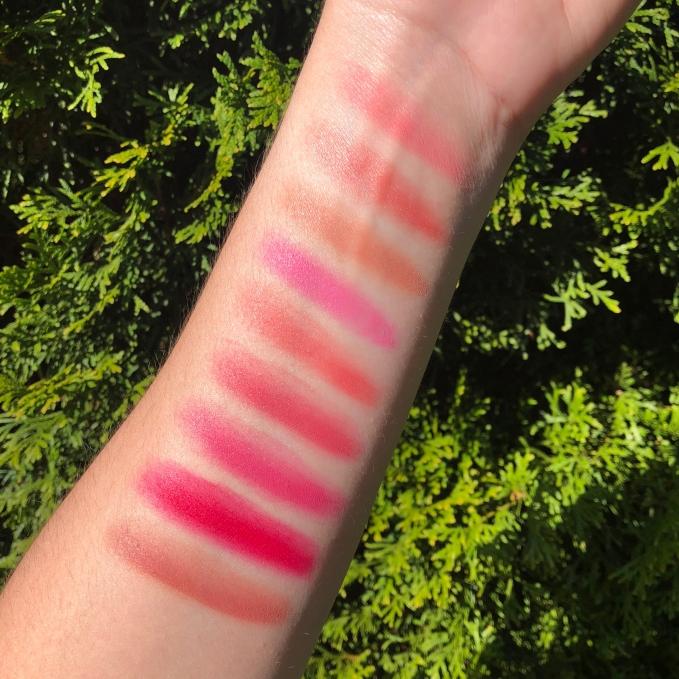 Pixi x Dulce Candy Lip Palette temptalia