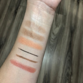 Burts Bees Cosmetics Swatches