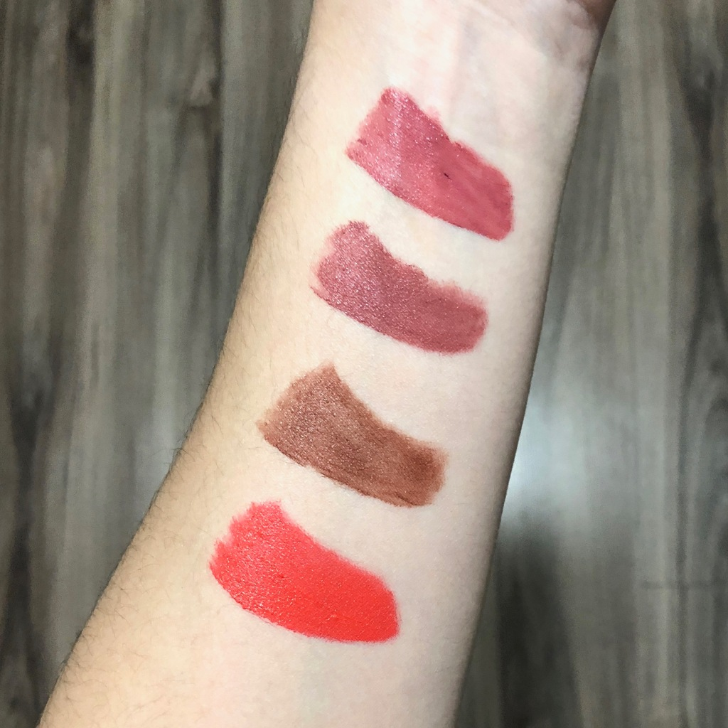 NYX Soft Matte Lip Cream in Cannes, Rome, Berlin, and Morocco