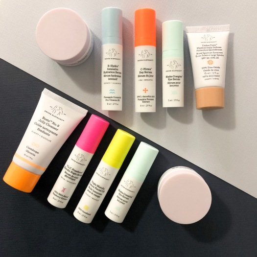 Drunk Elephant Skincare Routine using The Littles Starter kit, as reviewed on Midnight Wink Beauty Blog