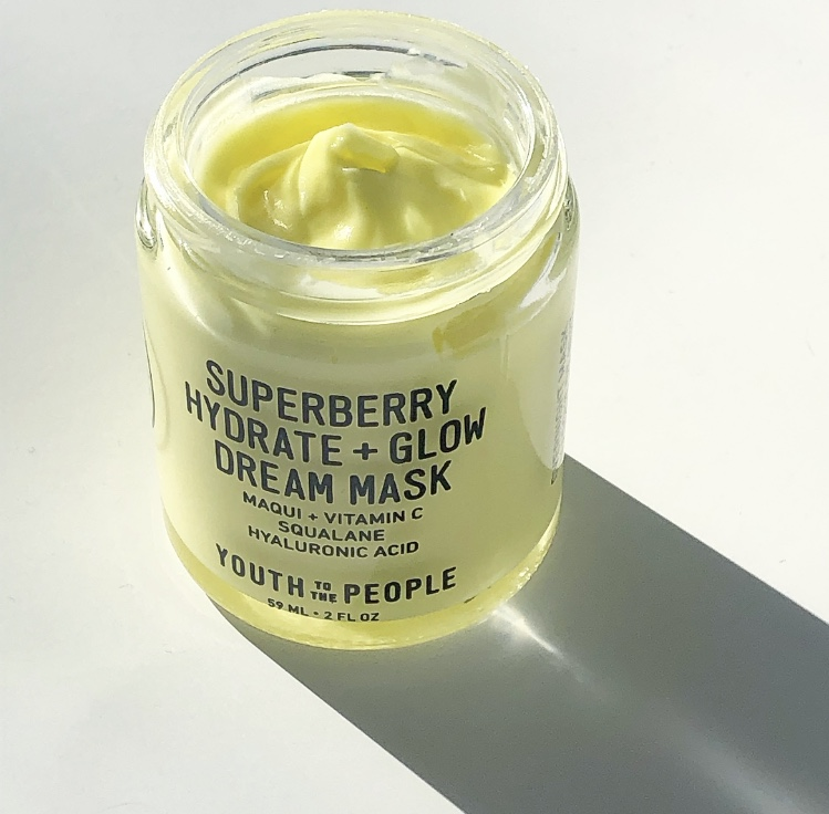 YTTP Superberry hydrate and glow dream mask review