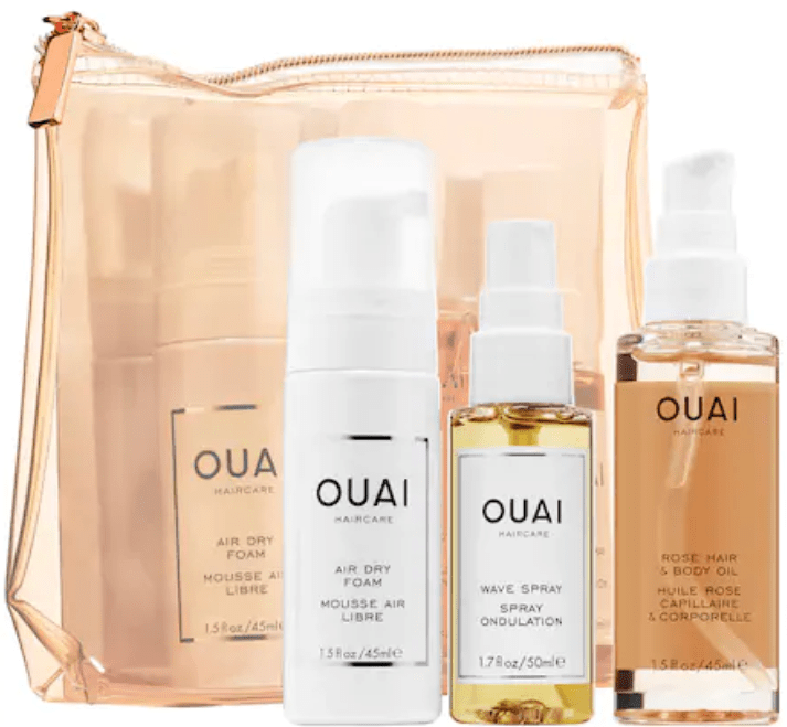 The easy way kit from OUAI Hair care